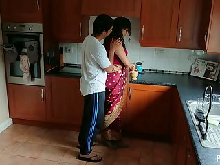 Indian Red Saree Bhabhi Caught Watching Porn By Devar Fuck Desi Hindi Audio Hd [720p]