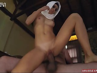Hungry Woman Gets Food And Fuck