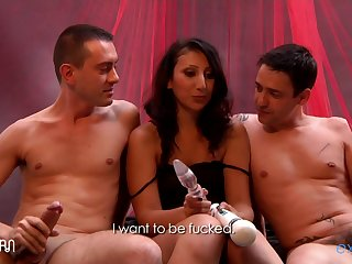 [explicite Art.com] Aileene Dacosta French Arabic Debutante In A Beautiful Threesome Video. 1 2