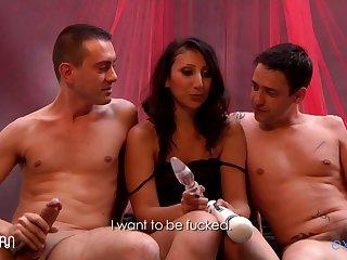 [explicite Art.com] Aileene Dacosta French Arabic Debutante In A Beautiful Threesome Video. 1 2