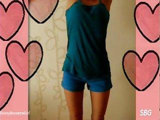 Desi Skinny Brunette Bhahi Girl