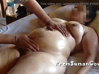 Desi Wife Suman Getting Nude Massage Hubby Filming [part 4] M